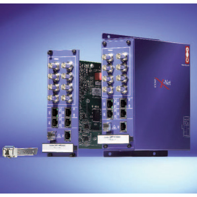 COE X-Net OPT8 digital video, high speed data & CD quality audio transmission product