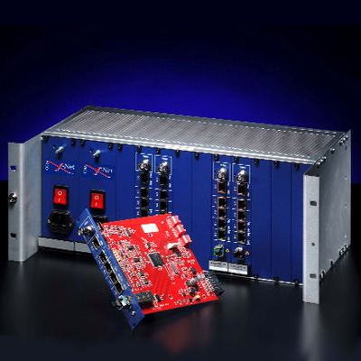 COE X-Net Star Driver Module provides 8 buffered data outputs for connecting multiple telemetry devices