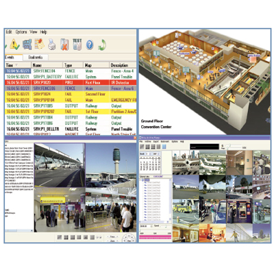 COE X-Net Video Management System PC based software solution for viewing, recording and management