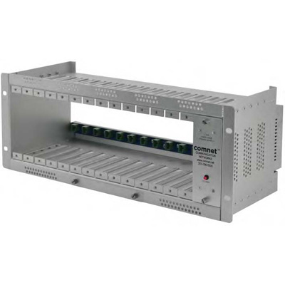 Comnet C1 rack mount card cage with power supply