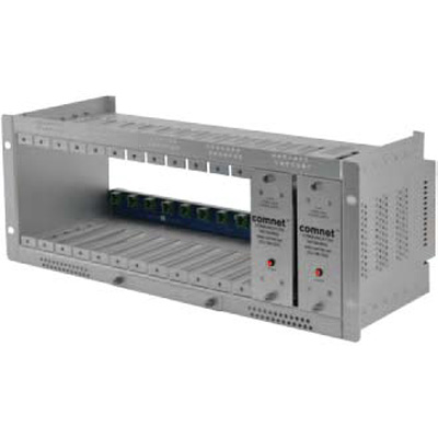 ComNet C2 rack mount card cage with redundant power supply