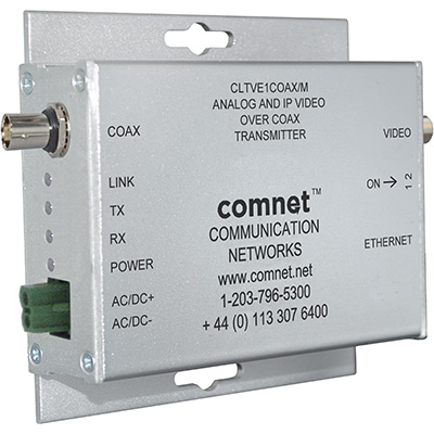 ComNet introduces IP + analogue video over COAX