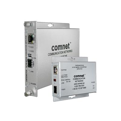 ComNet CNFE2MCPOEM mini ethernet media converter with PoE