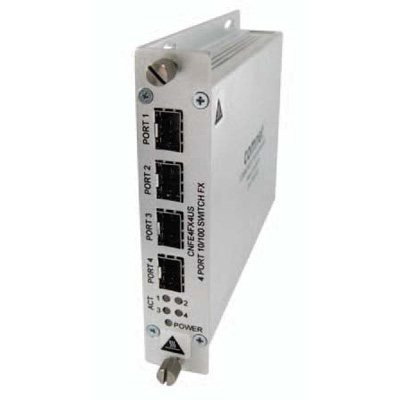 ComNet CNFE4FX4US 10/100 Mbps Ethernet 4 port unmanaged switch