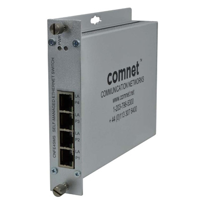ComNet CNFE4SMS ethernet self-managed switch