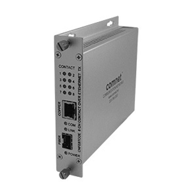 Comnet CNFE8(X)COE eight channel contact closures over 10/100 ethernet