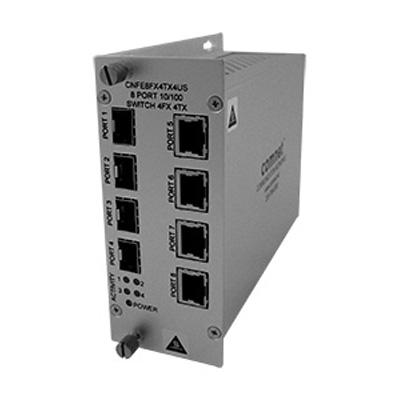 ComNet CNFE8FX4TX4US 10/100 Mbps Ethernet 8 port unmanaged switch