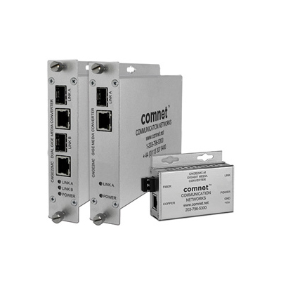 ComNet CNGE2MC 2 port ethernet media converter
