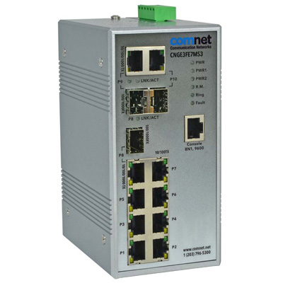 ComNet CNGE3FE7MS3 Managed Ethernet Switch