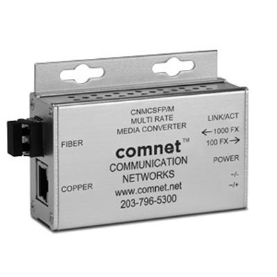 Comnet CNMCSFP/M 10/100/1000 Mbps ethernet media converters