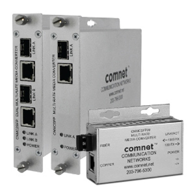 ComNet CNMCSFPPOEM Mini 10/100/1000Mbps Ethernet Media Converter