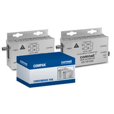 Comnet COMPAK1002MAC1M 10/100 Mbps ethernet 2 port media converter