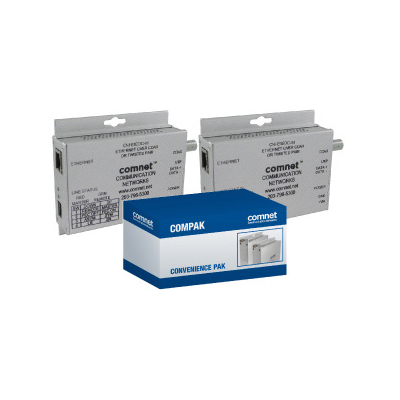 ComNet COMPAK1EOC 2 × CNFE1EOC-M Ethernet over Twisted Pair or Coax