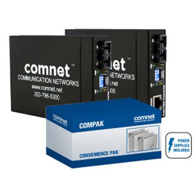 Comnet COMPAKFE2SCM2 10/100 Mbps ethernet media converter