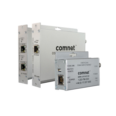 ComNet CWFE1COAX single channel ethernet over coax