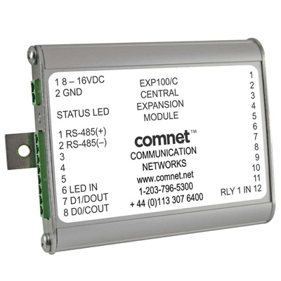 ComNet EXP100/C expansion module for use with FDW1000 wiegand module