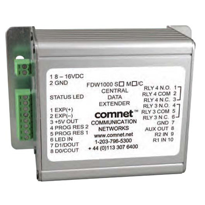 ComNet FDW1000M/C Optical Wiegand, MagStripe & F/2F data extender