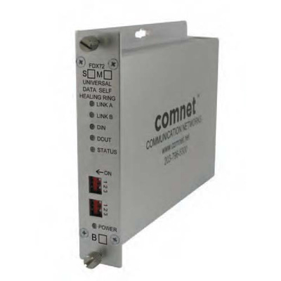ComNet FDX72M1SHR multi-protocol RS232/422/485 data transceiver
