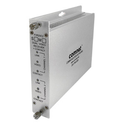 Comnet FVR10C1(M,S)1 single and dual-channel 10-bit digitally encoded short-haul video