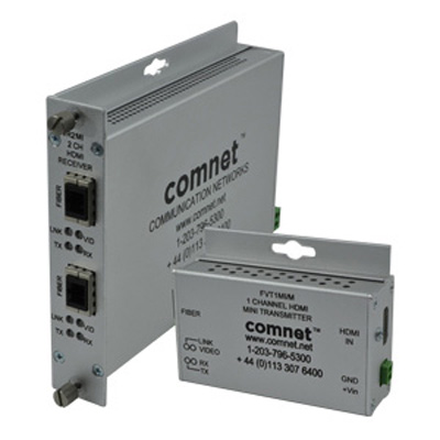 Comnet FVT/FVR(X)MI[/M] HD Digital Visual Interface Multimode Fibre Link