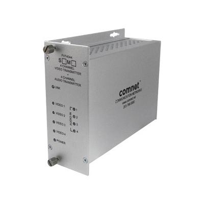 ComNet FVT/FVR40A4(M)(S)1 video/audio multiplexer