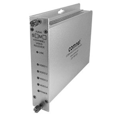 Comnet FVT/FVR41(M)(S)1 4-channel digitally encoded video multiplexer