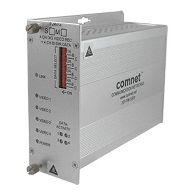 ComNet FVT/FVR414(M)(S)1 4 channel video transmitter/data transceiver and video receiver/data transceiver