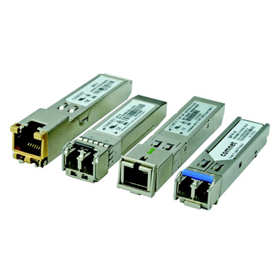 ComNet SFP-12A copper and optical fibre transceivers