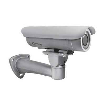 Compro CP480 CCTV camera with 1/3 inch chip and built-in OSD control joystick