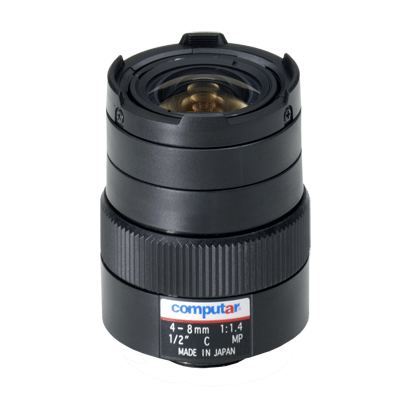 Computar H2Z0414C-MP CCTV camera lens with C mount