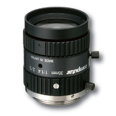 Computar M3514-MP lense for 2/3 format cameras with 35mm focal length