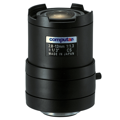 Computar T4Z2813CS-IR CCTV camera lens with manual zoom