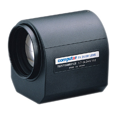 Computar T6Z5710AMSP-CS 1/3'' CCTV camera lens with CS mount