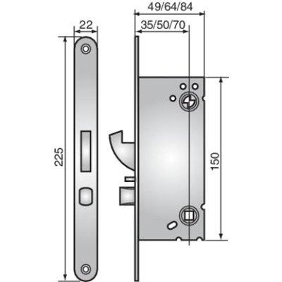 ASSA ABLOY Connect 340 sash lock for Smartair