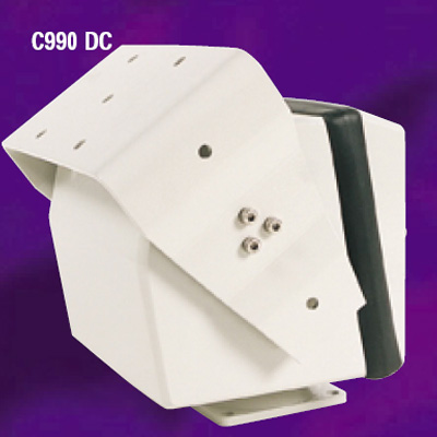 Conway C990/DC/55/P IP66-rated variable speed pan and tilt