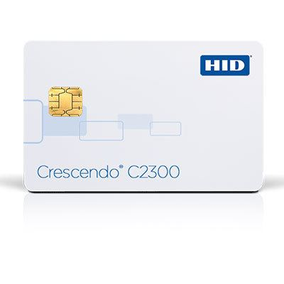 HID Crescendo® C2300 Series smart card