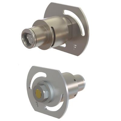 CyberLock CL-PM1D parking meter, double D tenon, drill-resistant