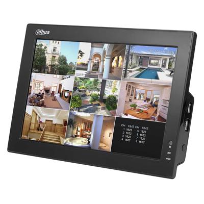 Dahua Technology DH-CVR0804-10 8 channel 10 inch LCD combo standalone DVR