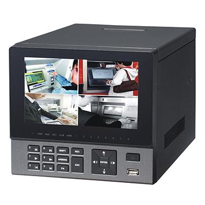 Dahua Technology DH-HVR0404AH-VD 4-channel 960H & IP 4HDD hybrid ATM DVR