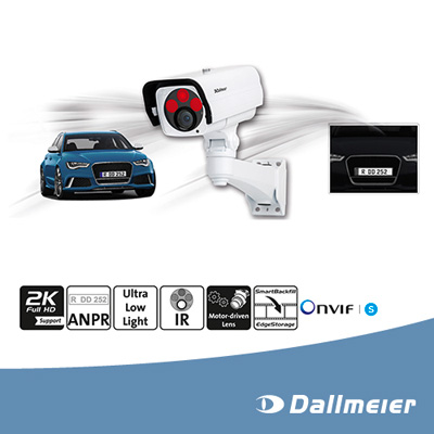 Dallmeier launches special camera for number plate recognition