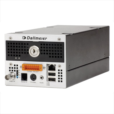 Dallmeier DIS-2/M StreamerPro HDD Large - analogue audio, video recorder