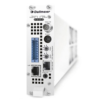 Dallmeier DIS-2/M series: audio and video recorders in modular construction
