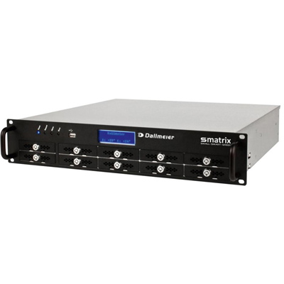 Dallmeier DMX 800, 8-channel hybrid VideoIP appliance with integrated storage system