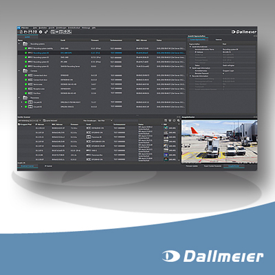 Dallmeier PService3 CCTV software