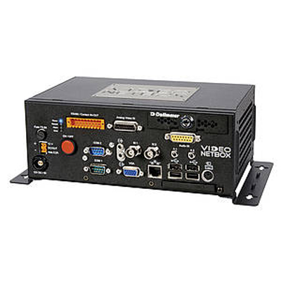 Dallmeier VideoNetBox eXchange drive a compact hybrid audio and video server with up to 8 freely configurable video channels
