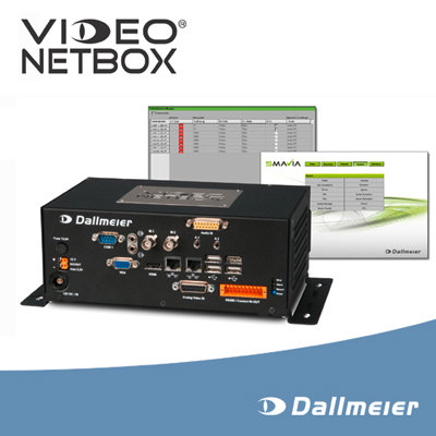 Compact, flexible, future-proof: The new VideoNetBox II from Dallmeier
