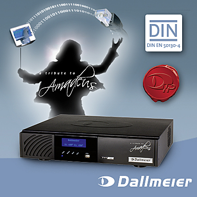 New Dallmeier VNS recorder series - a tribute to Amadeus