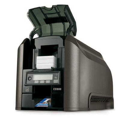 Datacard CD800 CARD PRINTER video printer with advanced printer driver