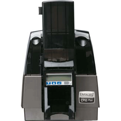 Datacard CP60 PLUS CARD PRINTER video printer with printer pooling