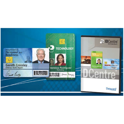 Datacard IDCENTRE GOLD IDENTIFICATION SOFTWARE access control software with plug-ins for SASI and Lifetouch